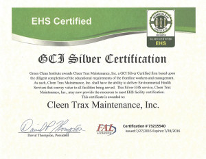 GCI Silver Certification